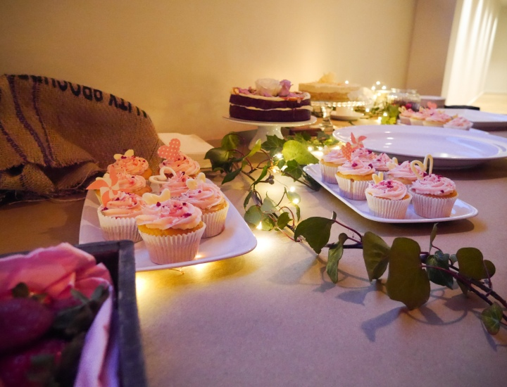 Engagement Party food
