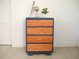 Upcycled vintage wooden dresser