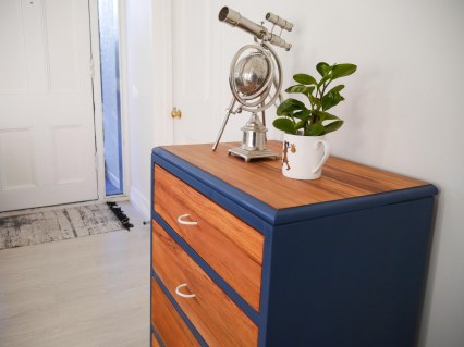 Blue up-cycled dresser, Mooch style