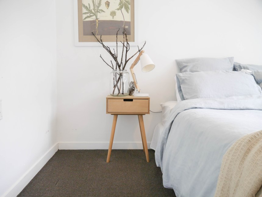 Scandi bedroom decor, Guest Bedroom
