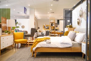 Freedom Furniture bedroom